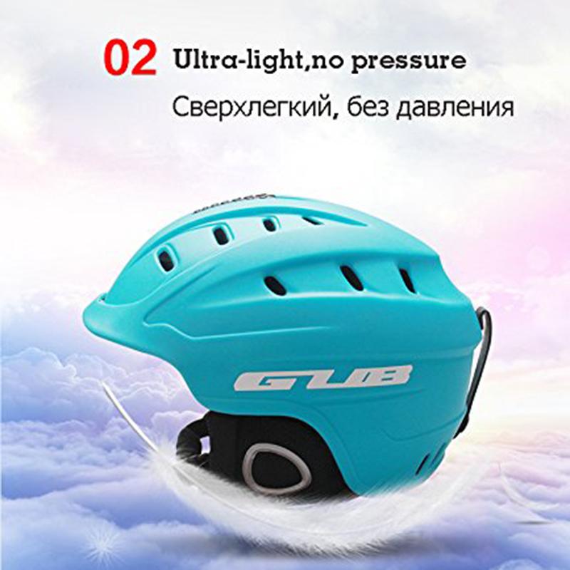 GUB-616-Professional-Adult-Ski-Helmet-Man-Women-Skating-Skateboard-Snowboard-M8 thumbnail 22