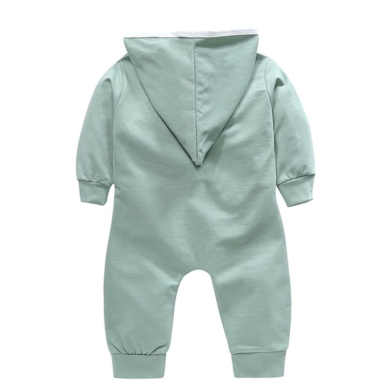 Nuevo-Otono-Mono-Mameluco-de-Bebe-Recien-Nacido-Cardigan-de-Boton-Ropa-Exte-R3D4 miniatura 3