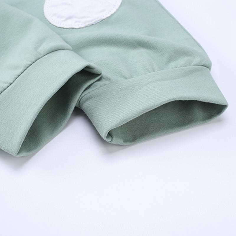 Nuevo-Otono-Mono-Mameluco-de-Bebe-Recien-Nacido-Cardigan-de-Boton-Ropa-Exte-R3D4 miniatura 11
