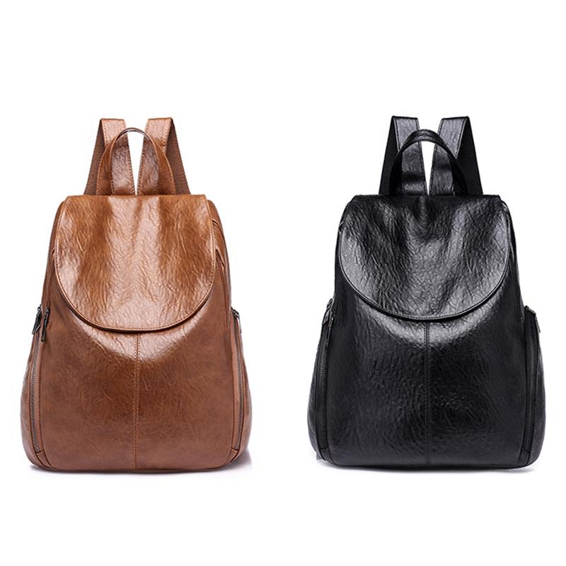 cbdb092daef Image is loading Fashion-Travel-Backpack-Korean-Women-Female-Rucksack- Leisure-