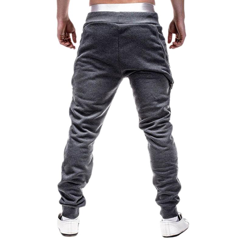 2X-Pantalones-De-Bolsillos-Con-Cremallera-De-Cintura-Elastica-De-Cordon-Par-R1Y6 miniatura 15