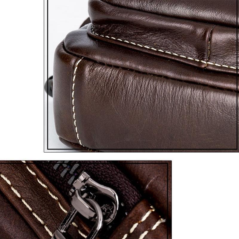 Bullcaptain-Sacs-A-Bandouliere-En-Cuir-Veritable-A-La-Mode-Sac-A-Bandoulier-M5U8 miniature 16