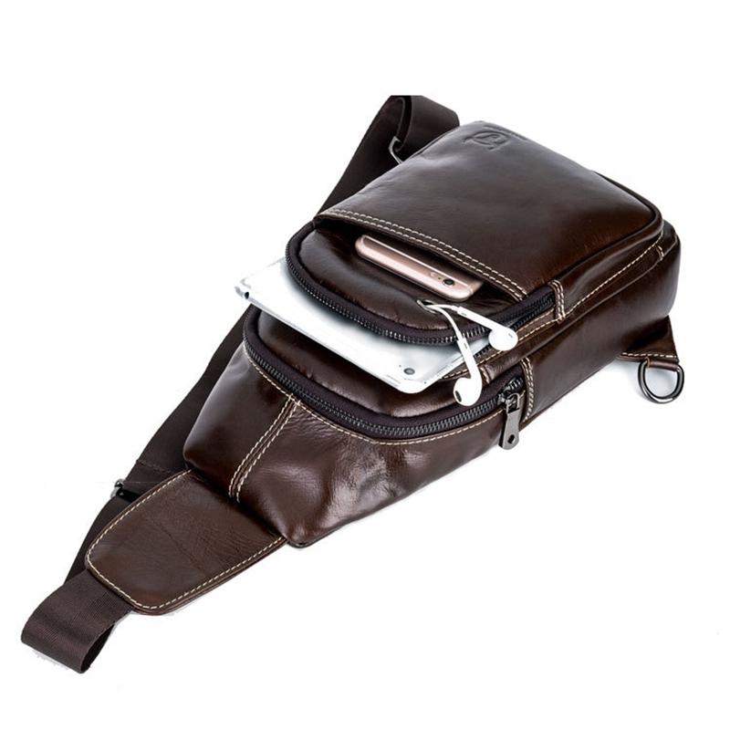 Bullcaptain-Sacs-A-Bandouliere-En-Cuir-Veritable-A-La-Mode-Sac-A-Bandoulier-M5U8 miniature 18
