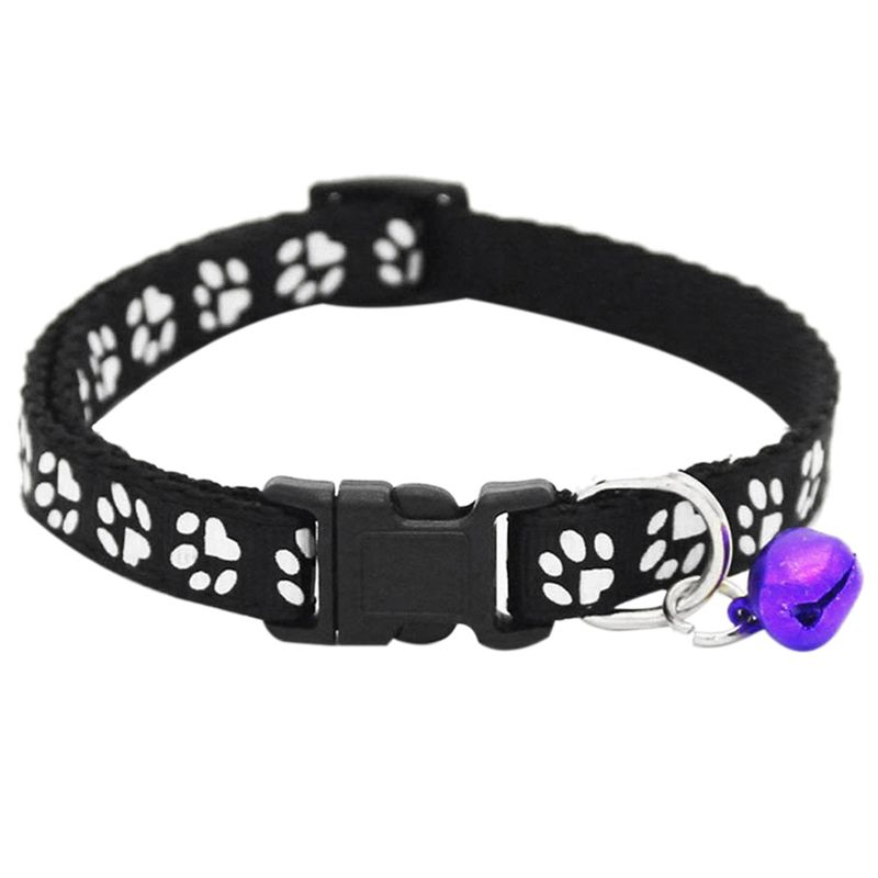 Lot-de-2-Colliers-de-Chat-Ajustables-avec-Clochette-Collier-pour-Animal-de-O4W8 miniature 11