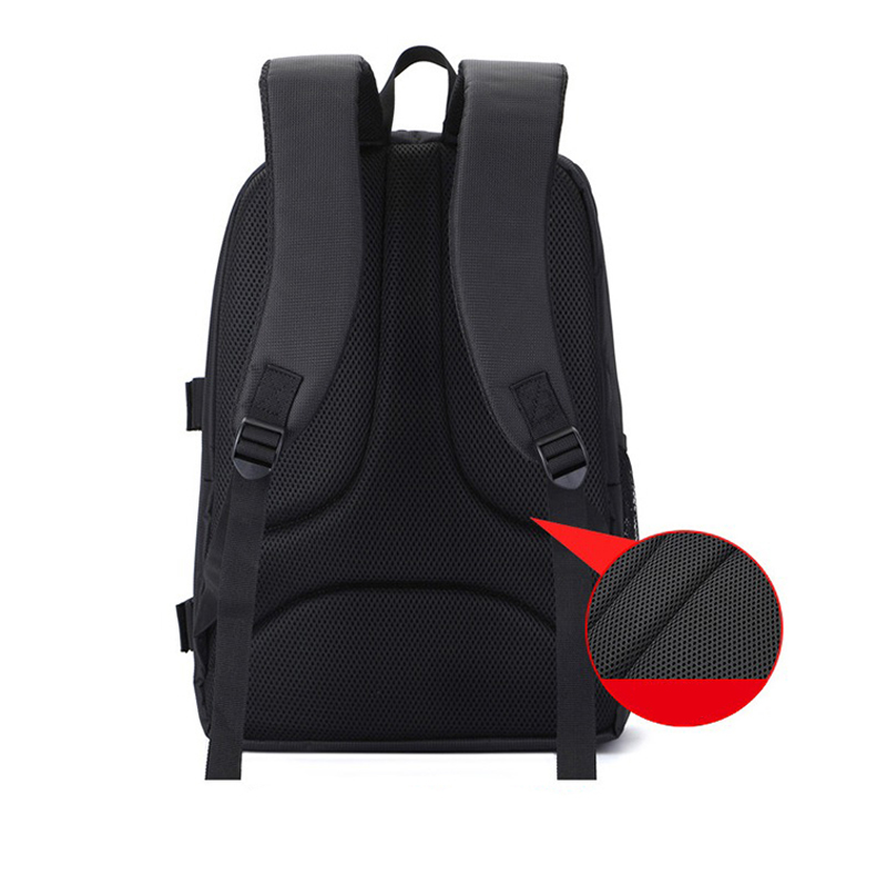 Waterproof-Digital-DSLR-Photo-Padded-Backpack-with-Rain-Cover-Bag-Case-for-O4R5 thumbnail 4