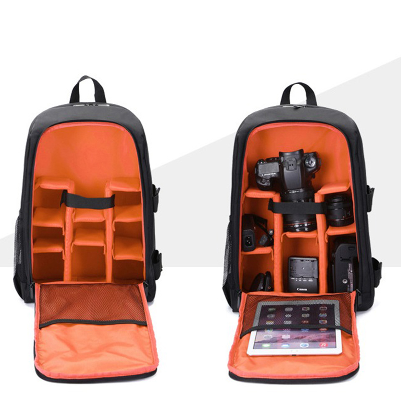 Waterproof-Digital-DSLR-Photo-Padded-Backpack-with-Rain-Cover-Bag-Case-for-O4R5 thumbnail 14