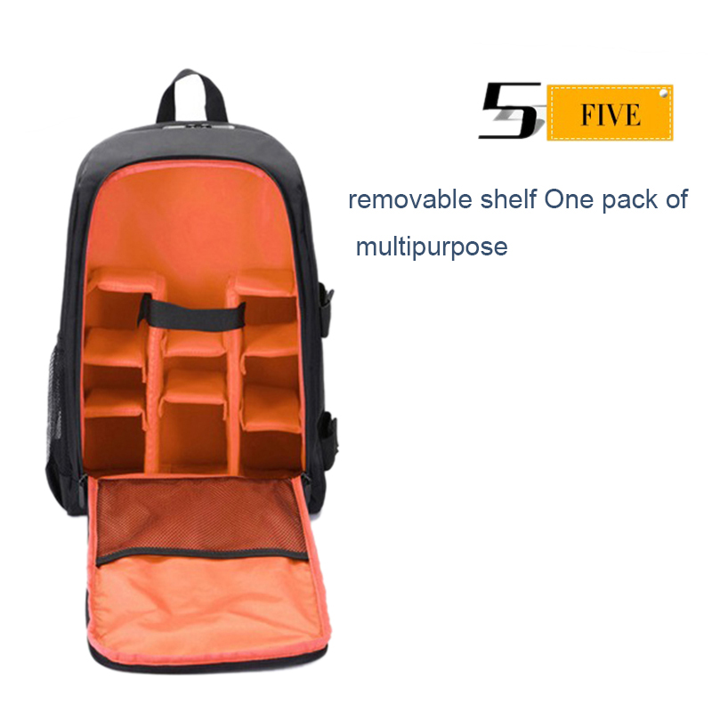 Waterproof-Digital-DSLR-Photo-Padded-Backpack-with-Rain-Cover-Bag-Case-for-O4R5 thumbnail 21