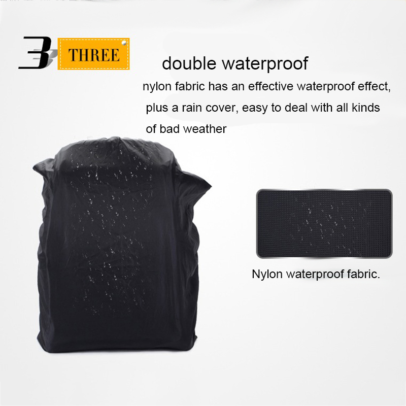 Waterproof-Digital-DSLR-Photo-Padded-Backpack-with-Rain-Cover-Bag-Case-for-O4R5 thumbnail 29