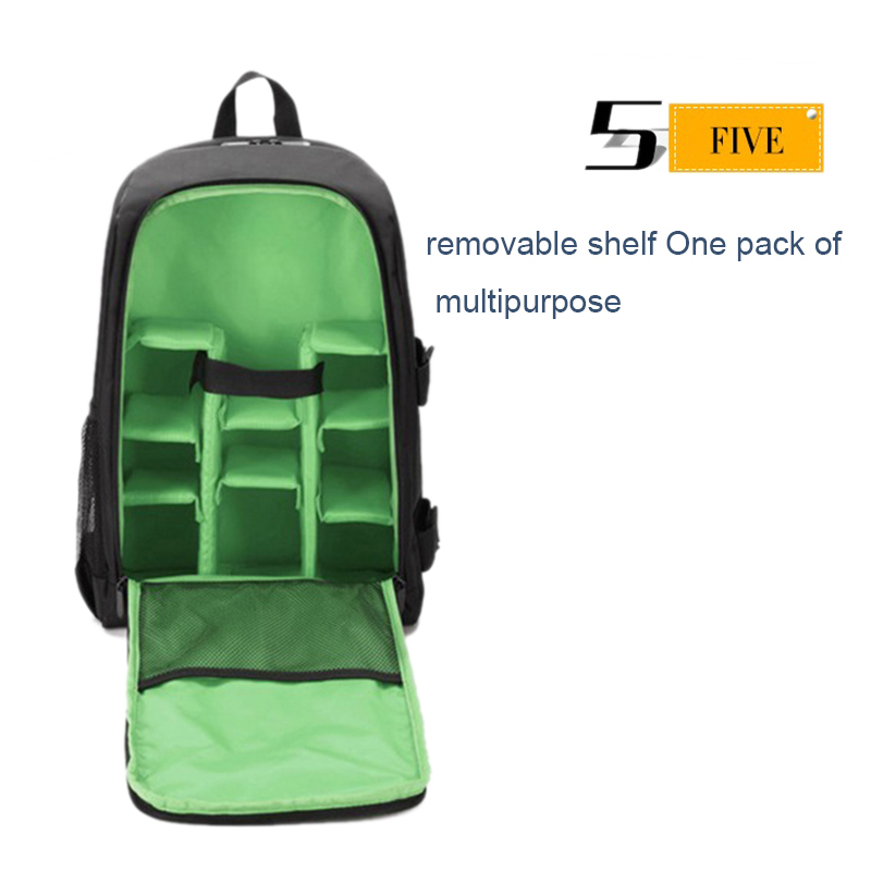 Waterproof-Digital-DSLR-Photo-Padded-Backpack-with-Rain-Cover-Bag-Case-for-O4R5 thumbnail 31