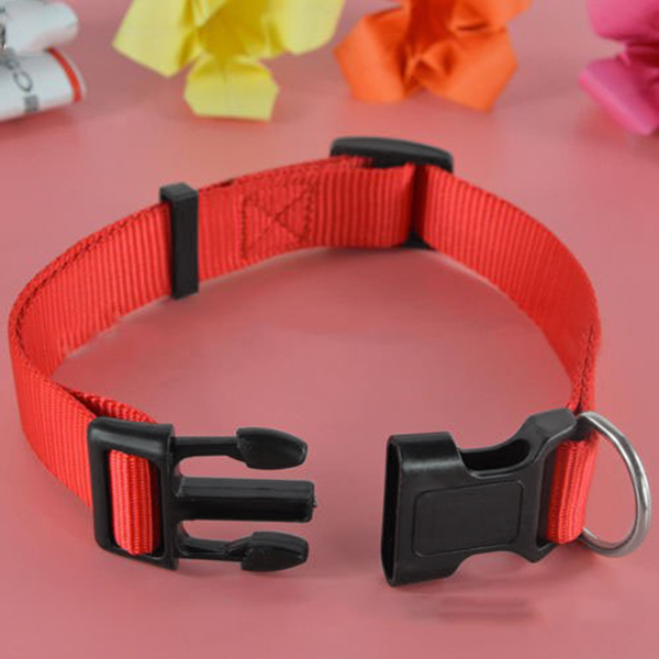 Adjustable-Nylon-Dog-Puppy-Collar-with-Buckle-and-Clip-for-Lead-M2V1M2V1 縮圖 3