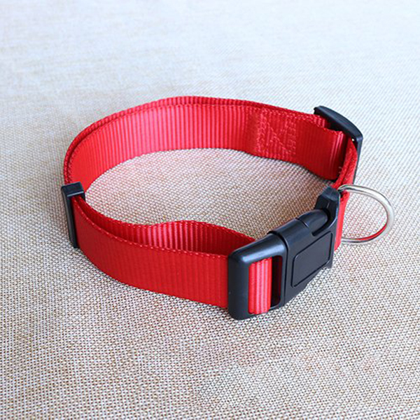 Adjustable-Nylon-Dog-Puppy-Collar-with-Buckle-and-Clip-for-Lead-M2V1M2V1 縮圖 4