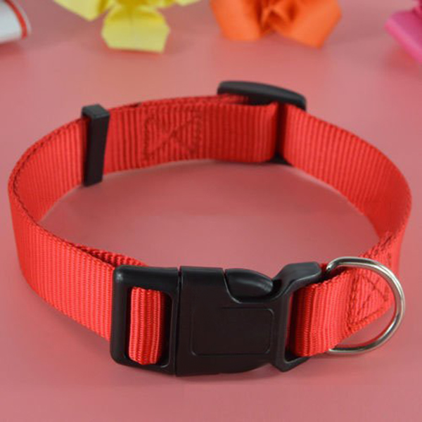 Adjustable-Nylon-Dog-Puppy-Collar-with-Buckle-and-Clip-for-Lead-M2V1M2V1 縮圖 5
