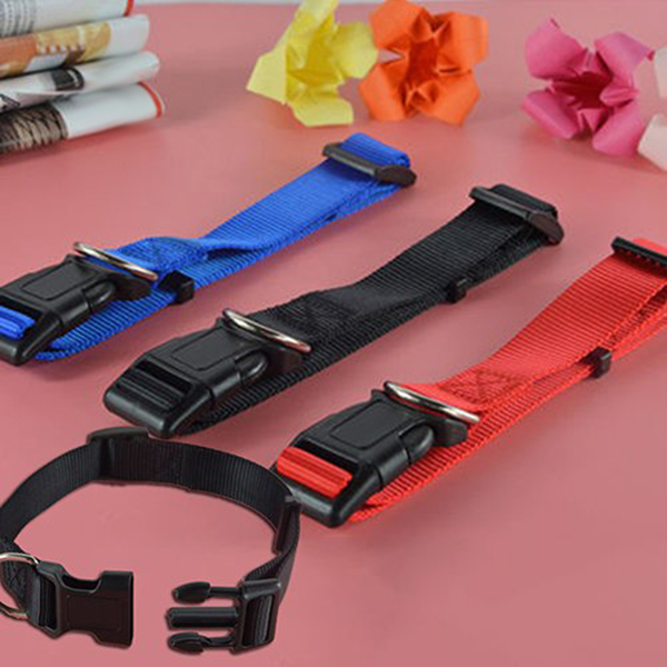 Adjustable-Nylon-Dog-Puppy-Collar-with-Buckle-and-Clip-for-Lead-M2V1M2V1 縮圖 7