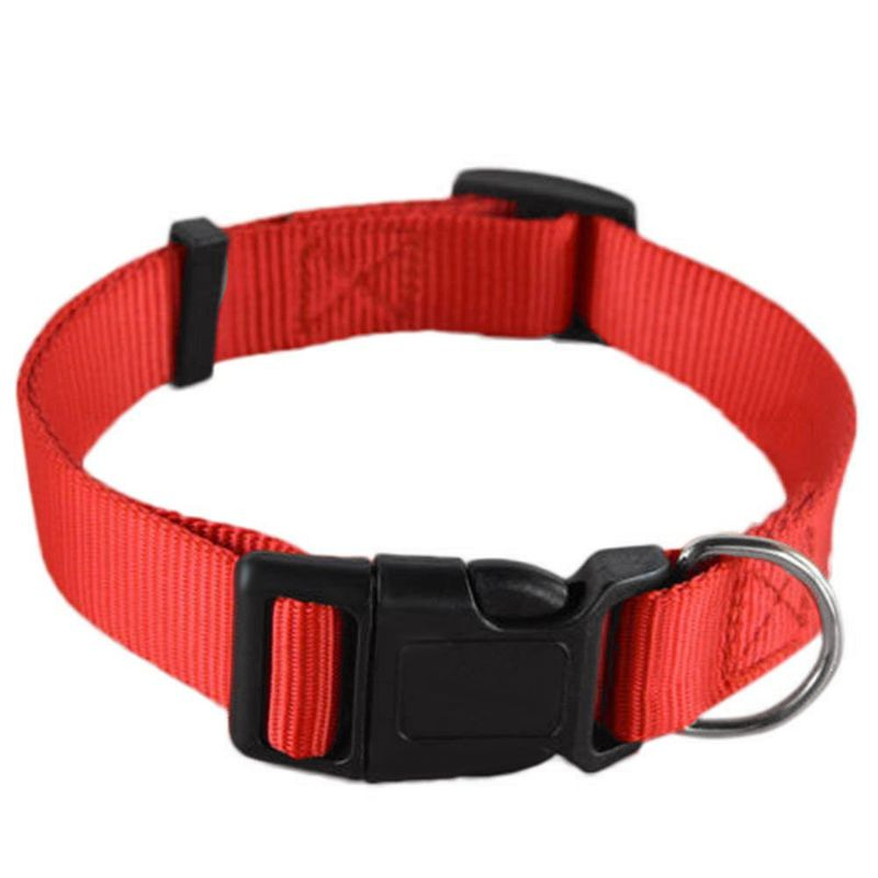 Adjustable-Nylon-Dog-Puppy-Collar-with-Buckle-and-Clip-for-Lead-M2V1M2V1 縮圖 8