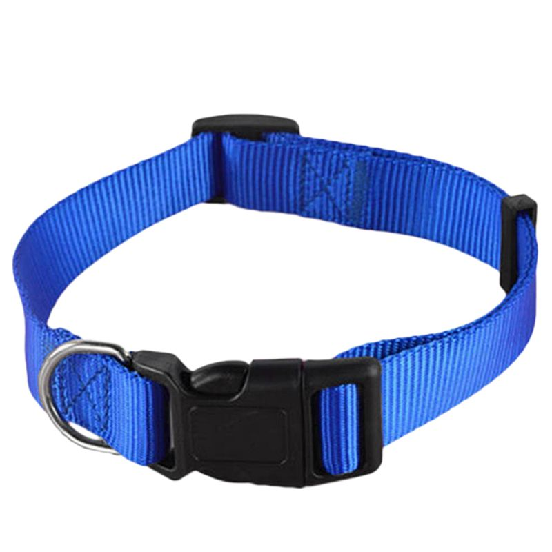 Adjustable-Nylon-Dog-Puppy-Collar-with-Buckle-and-Clip-for-Lead-M2V1M2V1