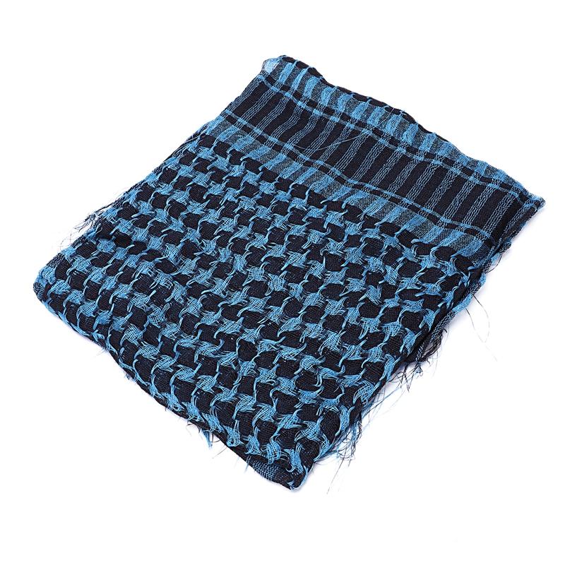 1X-Unisex-Scarf-Cotton-Lightweight-Plaid-Tassel-Arab-Desert-Shemagh-D4Q3 thumbnail 21