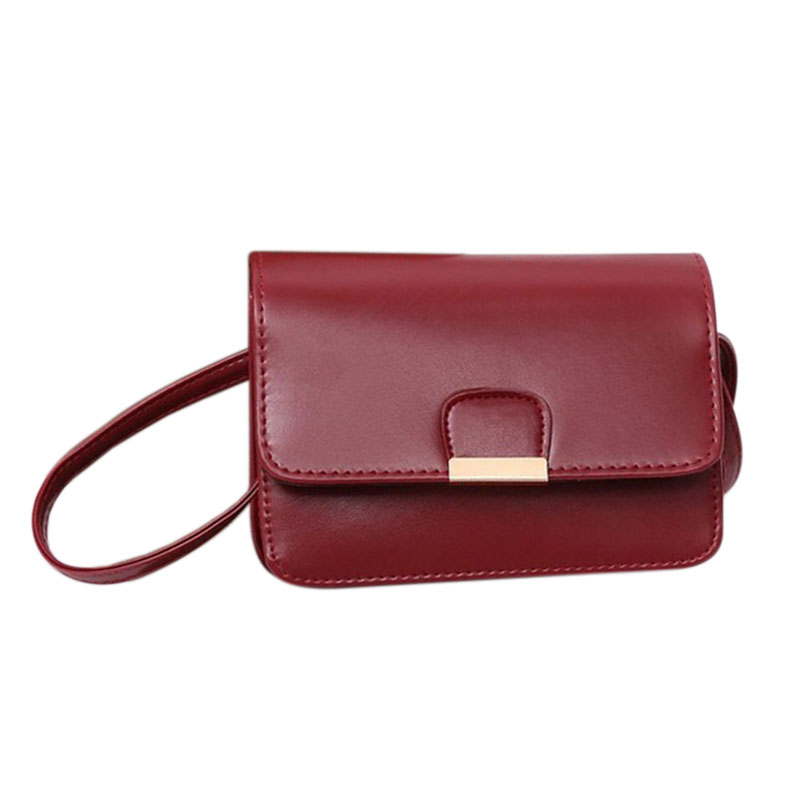 Women-039-s-Fashion-Leather-Simple-Solid-Handbag-Small-Shoulder-Bags-Crossbody-N2X8 thumbnail 2