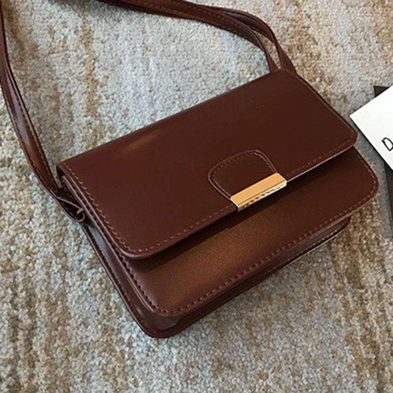 Women-039-s-Fashion-Leather-Simple-Solid-Handbag-Small-Shoulder-Bags-Crossbody-N2X8 thumbnail 15