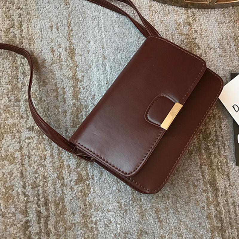 Women-039-s-Fashion-Leather-Simple-Solid-Handbag-Small-Shoulder-Bags-Crossbody-N2X8 thumbnail 17