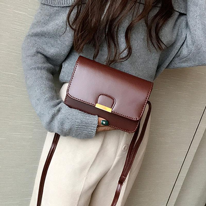 Women-039-s-Fashion-Leather-Simple-Solid-Handbag-Small-Shoulder-Bags-Crossbody-N2X8 thumbnail 18