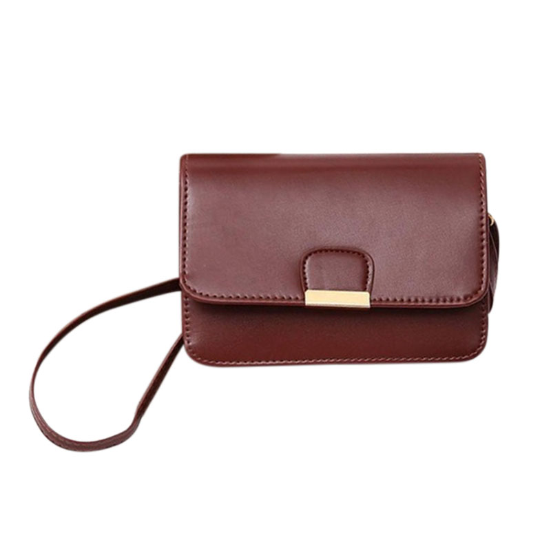 Women-039-s-Fashion-Leather-Simple-Solid-Handbag-Small-Shoulder-Bags-Crossbody-N2X8 thumbnail 12