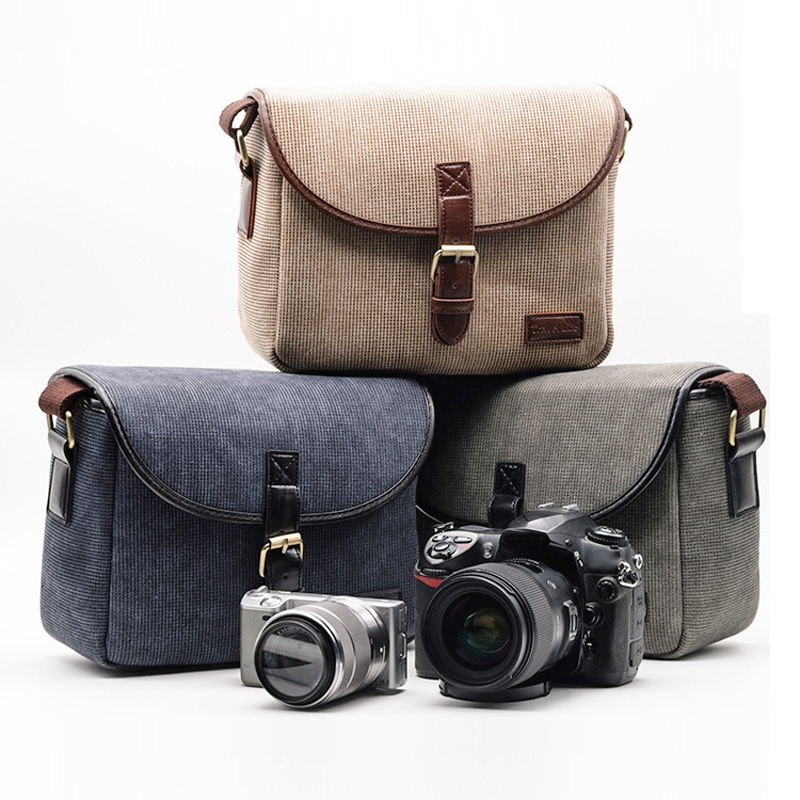 1X-Retro-Photo-Camera-Bag-Case-Cover-For-EOS-200D-77D-7D-80D-800D-130L1S1 thumbnail 7