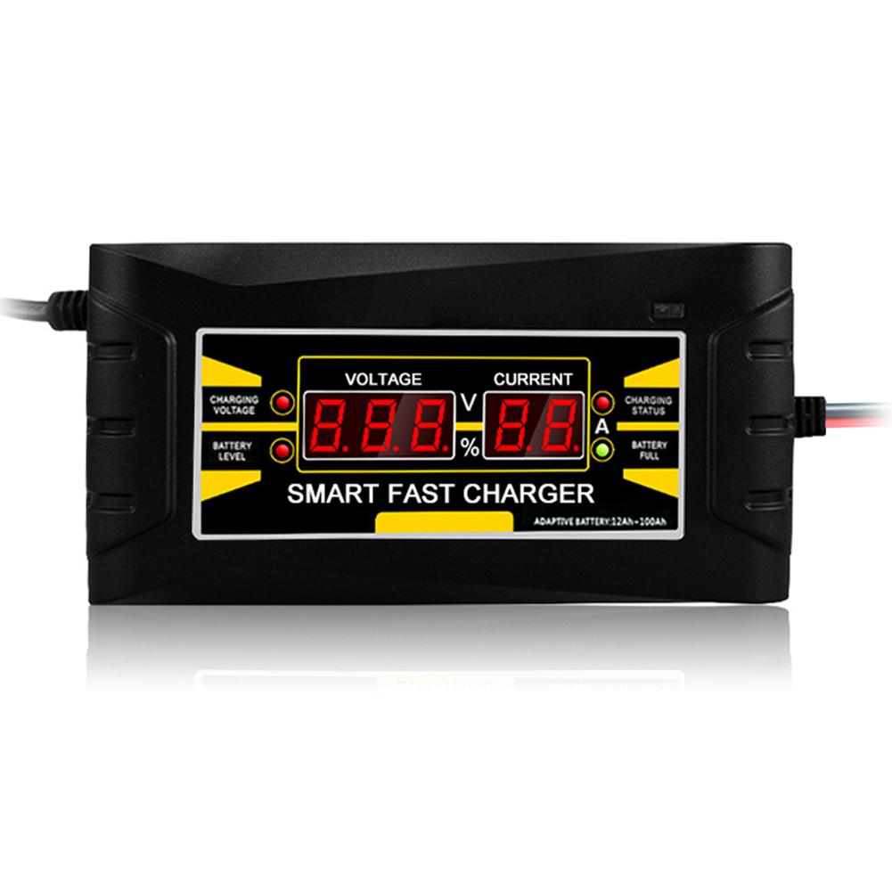 Cargador-De-Bateria-De-Coche-Del-Enchufe-De-La-Ue-12V-6A-10A-Inteligente-Co-P7V6 miniatura 4