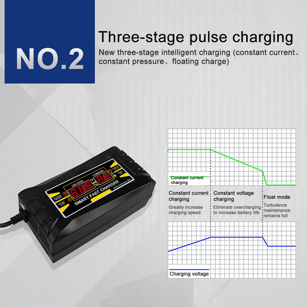 Cargador-De-Bateria-De-Coche-Del-Enchufe-De-La-Ue-12V-6A-10A-Inteligente-Co-P7V6 miniatura 10