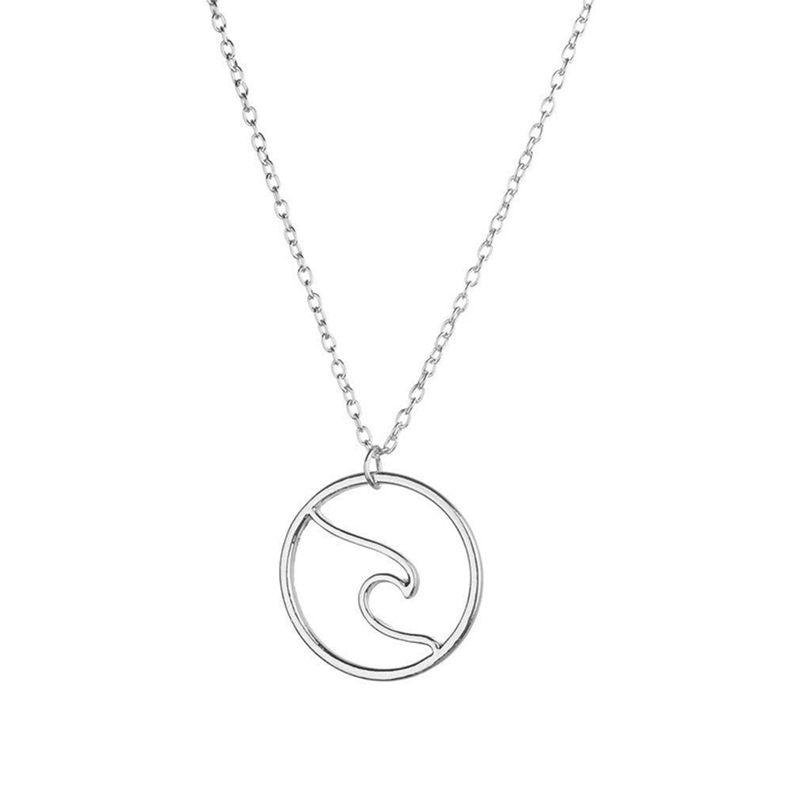 c49c250526 Una collana delicata per te o i tuoi amici! Collana stile semplice per  donna / ragazza. Collana da Donna A Forma di ...