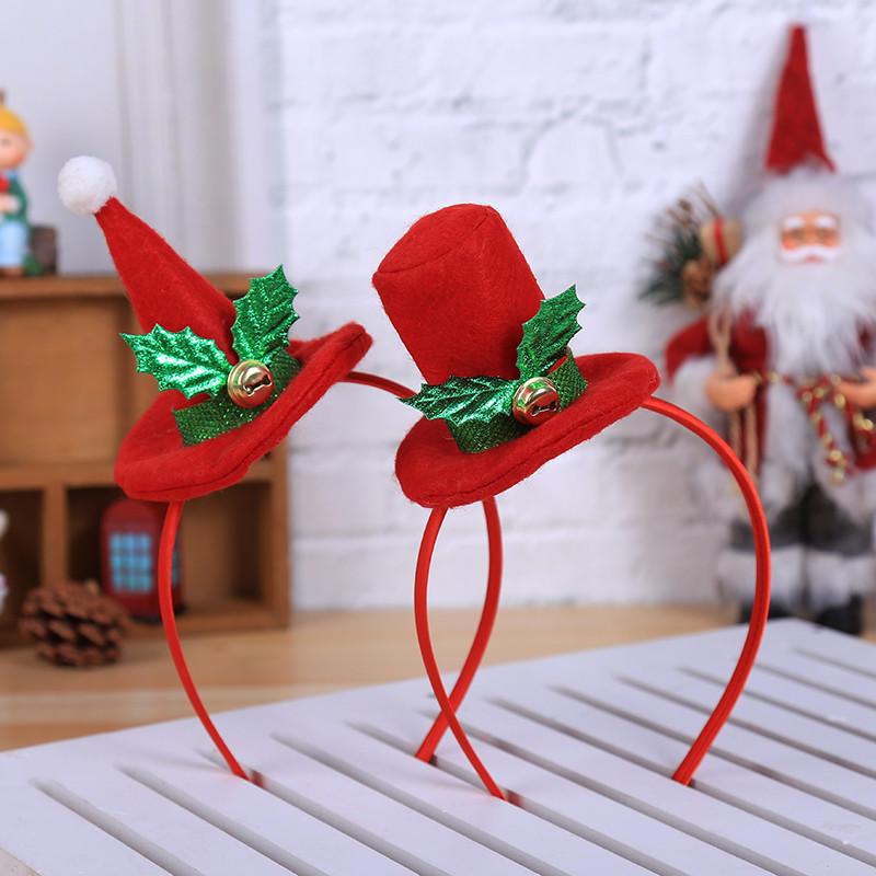 Detalles de Decoraciones De Navidad Para Casa Diadema De Navidad Caliente  Decoración De Z6E7