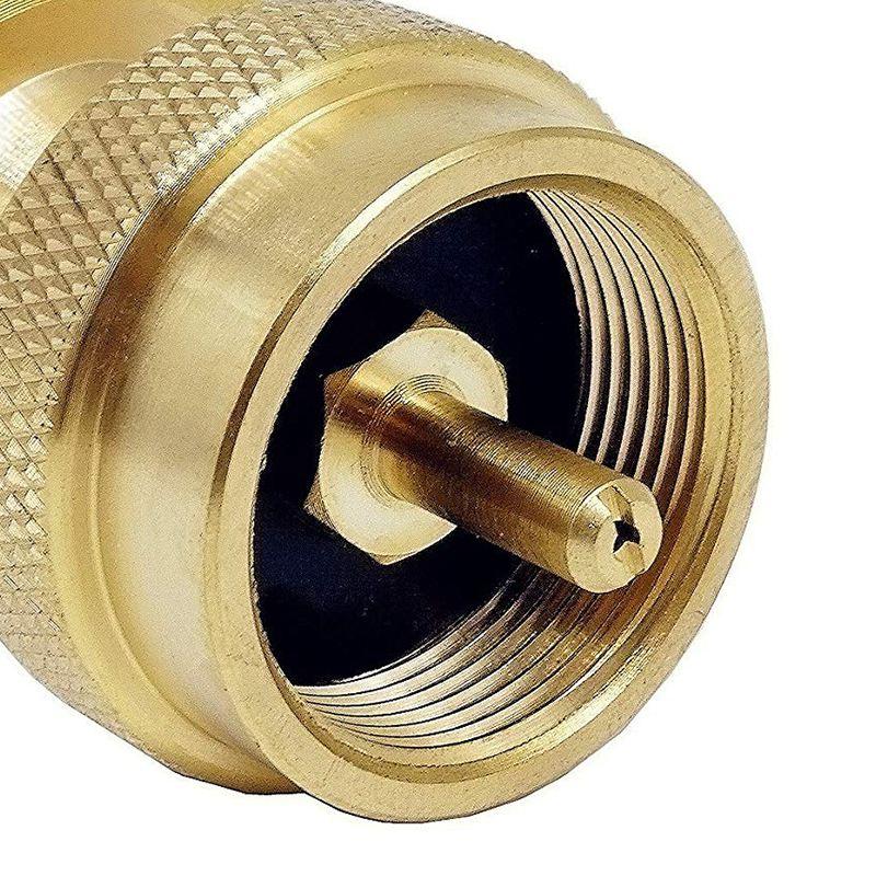 Il gas propano liquido è più veloce da usare e consente un maggiore controllo della E) Sollevare e agganciare la staffa della bombola sul supporto come illustrato nella.