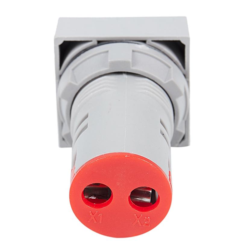 22mm-Ca-12-500V-Voltimetro-Panel-Cuadrado-Led-Medidor-de-Voltaje-Digital-Luz-GNH miniatura 7