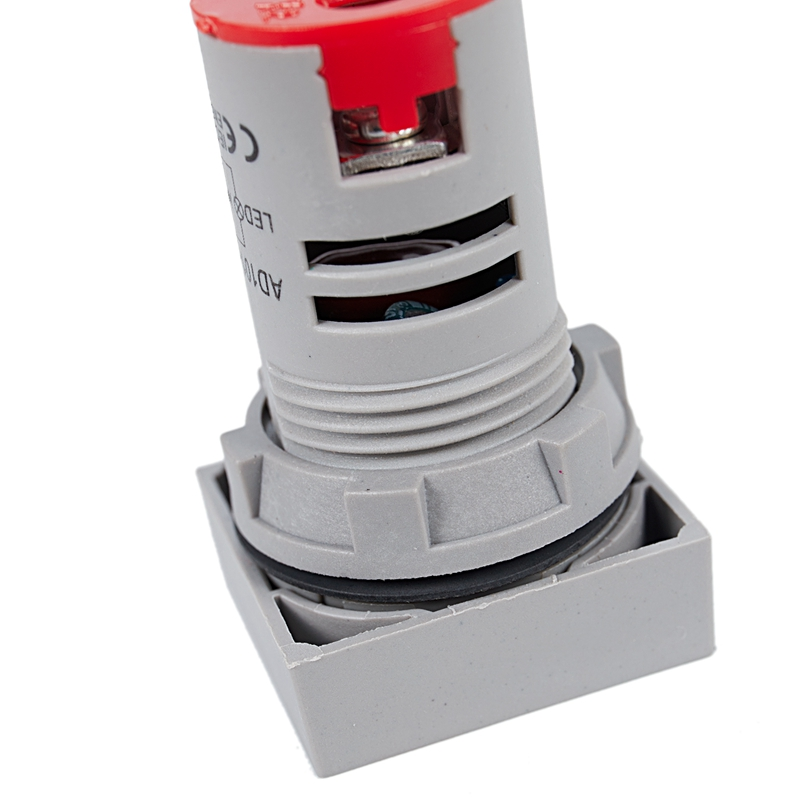 22mm-Ca-12-500V-Voltimetro-Panel-Cuadrado-Led-Medidor-de-Voltaje-Digital-Luz-GNH miniatura 9