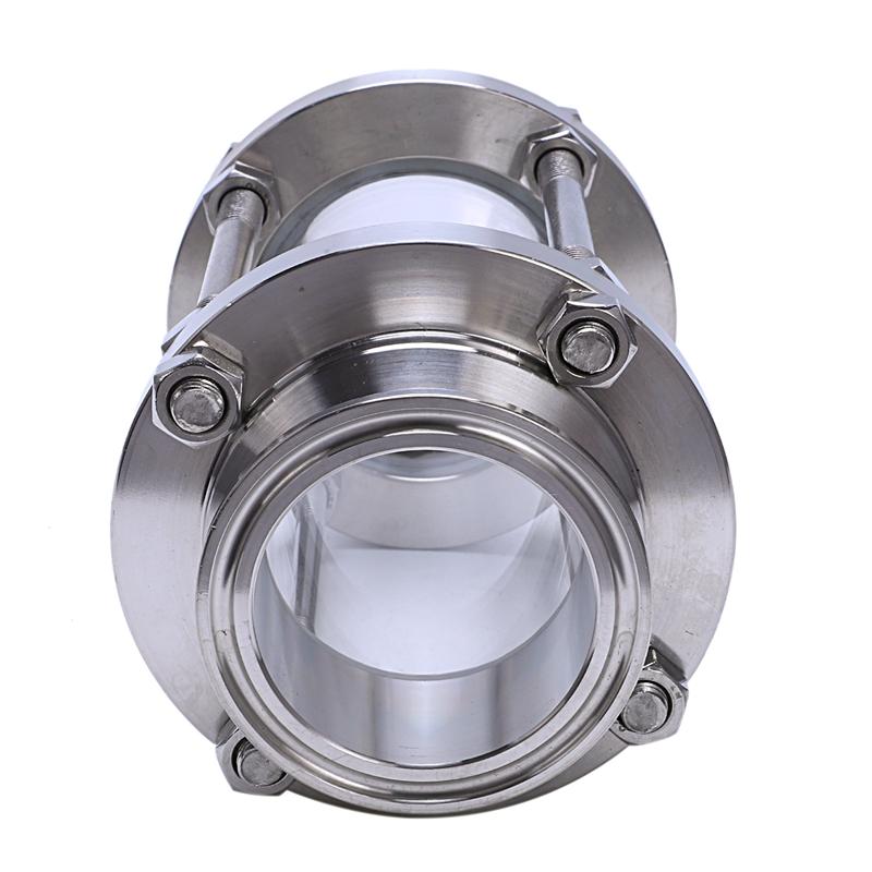 En-Linea-Vision-Visor-Con-El-Extremo-De-La-Abrazadera-Flujo-Sanitario-Visor-H4Y3 miniatura 5