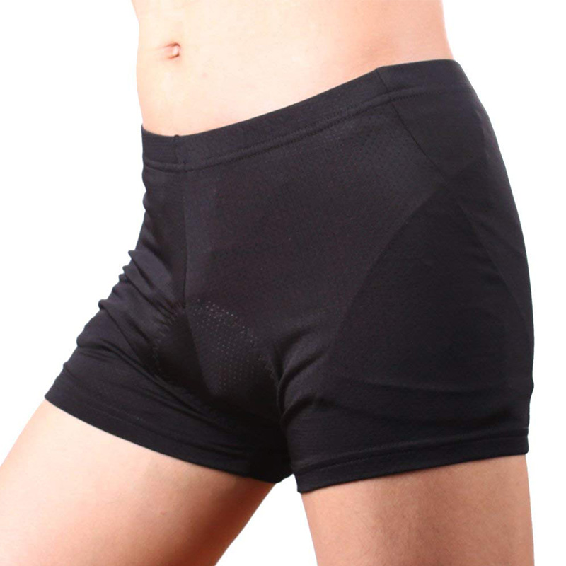 Sous-Vetements-de-Velo-Rembourres-3D-Short-Respirant-Poids-Leger-Hommes-6N3 miniature 3