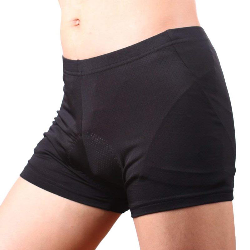Sous-Vetements-de-Velo-Rembourres-3D-Short-Respirant-Poids-Leger-Hommes-6N3 miniature 11