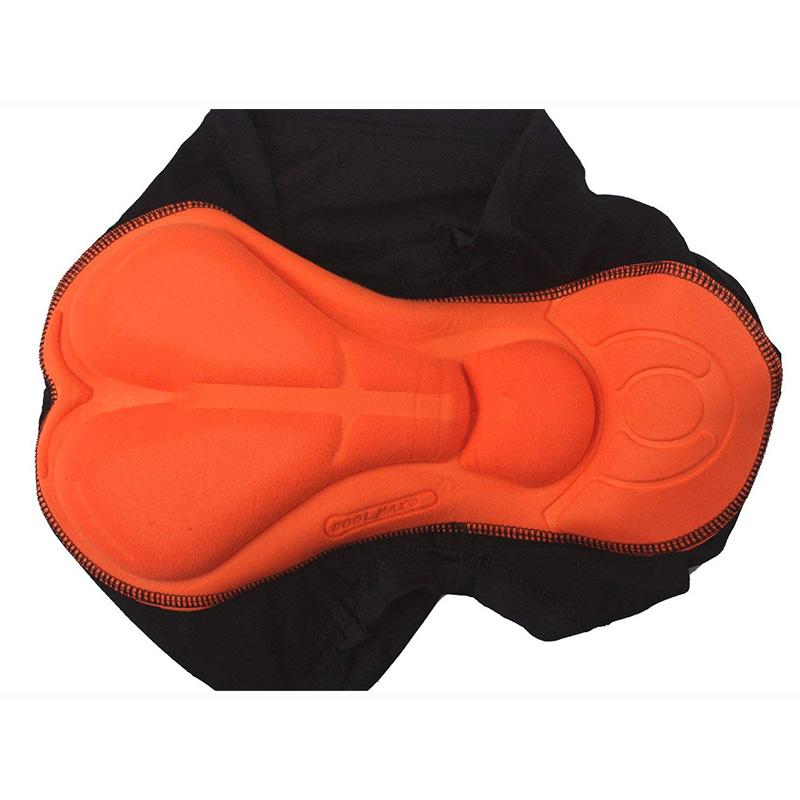 Sous-Vetements-de-Velo-Rembourres-3D-Short-Respirant-Poids-Leger-Homme-I9J9 miniature 4