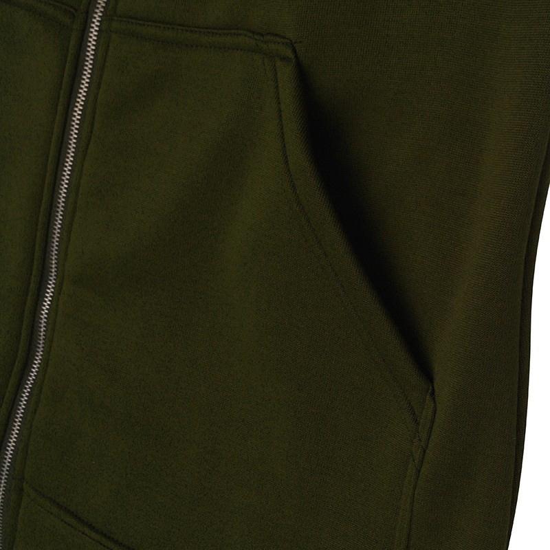 1X-Mode-Feminine-Automne-Hiver-Fermeture-Eclair-Long-Manteau-A-Capuche-Vest-B5P1 miniature 48