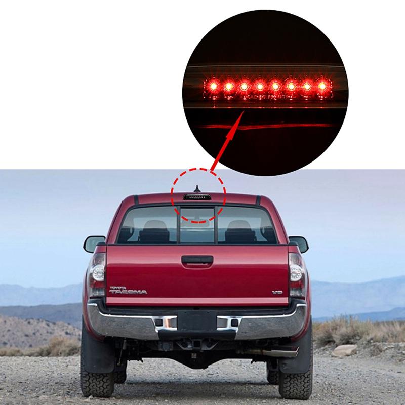 Para-1995-2017-Toyota-Tacoma-Estuche-Trasero-Tercero-3Rd-Freno-Luz-Led-Lamp-7W3 miniatura 8