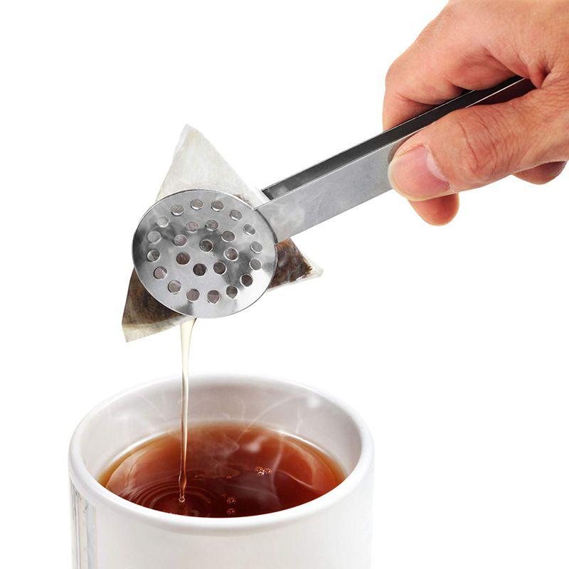 3st//Set Mini Edelstahl Eiswürfel Zucker Zange Essen Klammer Salat Brot Klemme