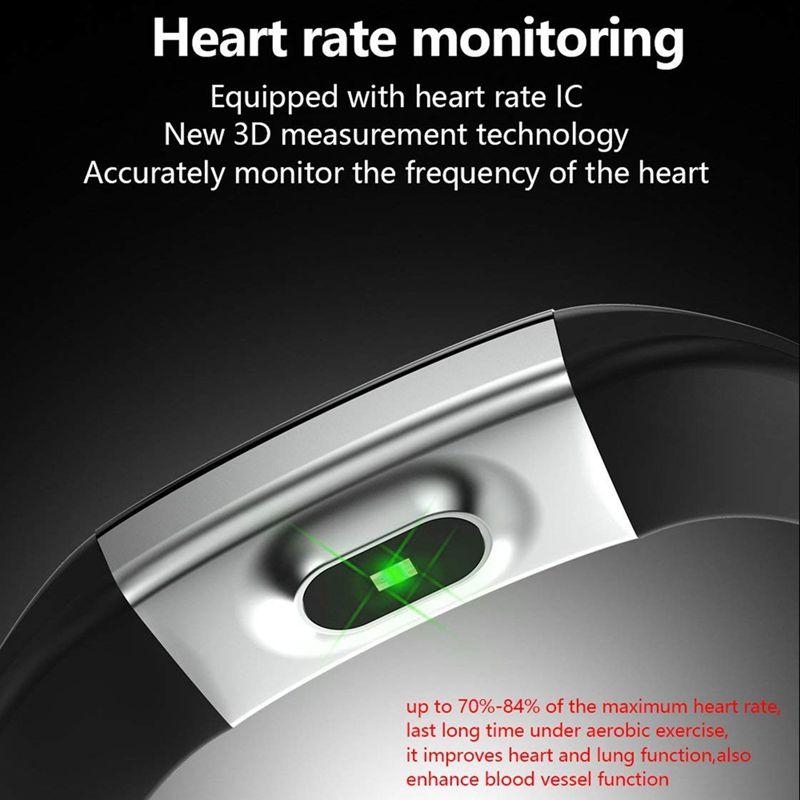 Plus-0-96-Pulgadas-Monitor-De-Presion-Arterial-Fitness-De-Ritmo-Cardiaco-R6D9 miniatura 6