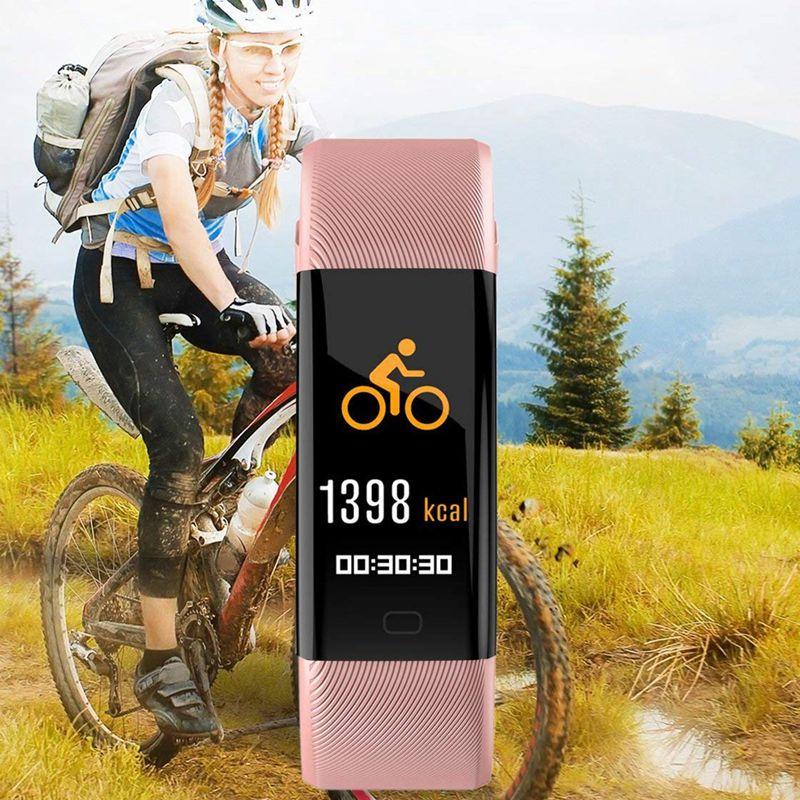 Plus-0-96-Pulgadas-Monitor-De-Presion-Arterial-Fitness-De-Ritmo-Cardiaco-R6D9 miniatura 25