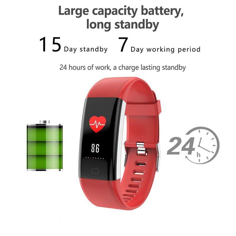 Plus-0-96-Pulgadas-Monitor-De-Presion-Arterial-Fitness-De-Ritmo-Cardiaco-R6D9 miniatura 31