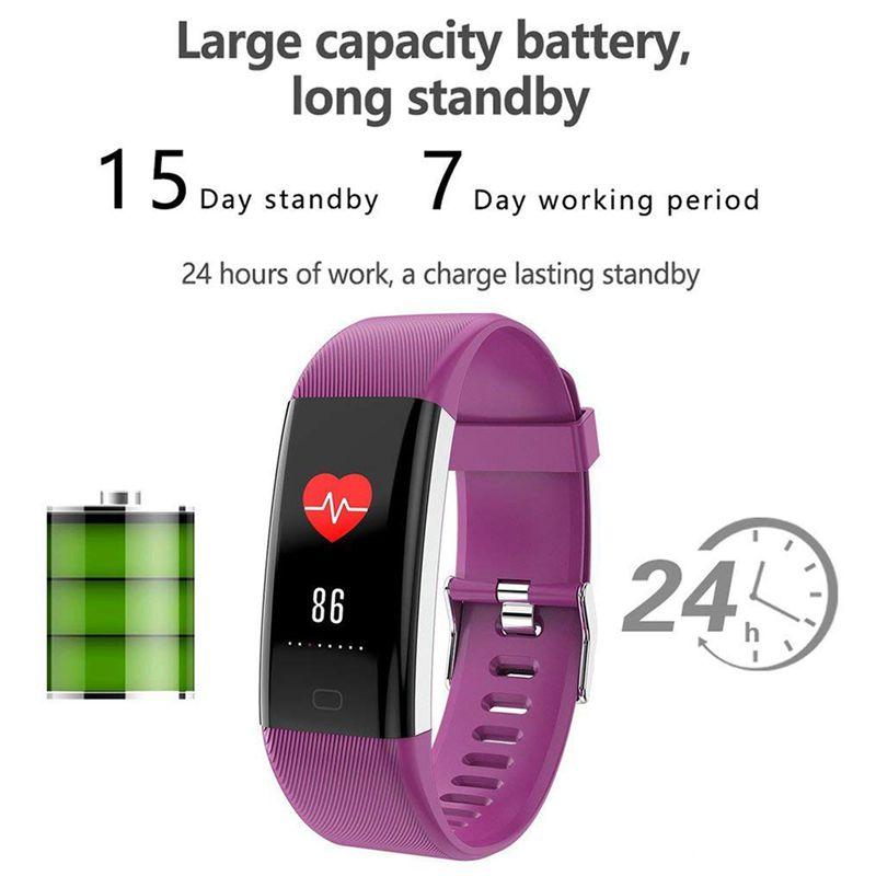 Plus-0-96-Pulgadas-Monitor-De-Presion-Arterial-Fitness-De-Ritmo-Cardiaco-R6D9 miniatura 35