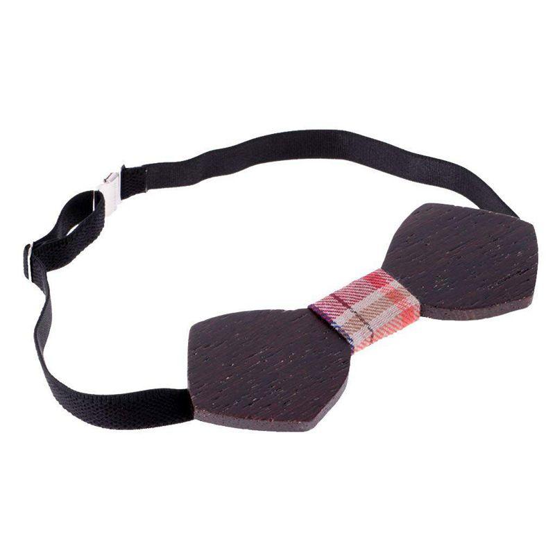 Homme-Noeud-Papillon-en-Bois-Cravate-Tendance-Accessoire-Costume-Tuxedo-pou-C4N1 miniature 9