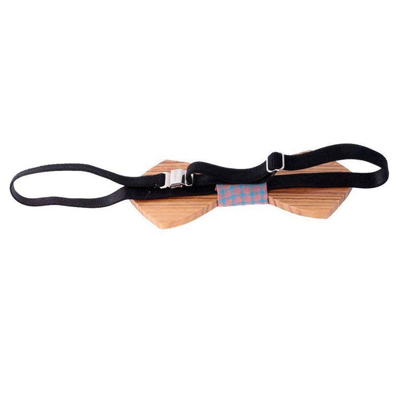 Homme-Noeud-Papillon-en-Bois-Cravate-Tendance-Accessoire-Costume-Tuxedo-pou-C4N1 miniature 7