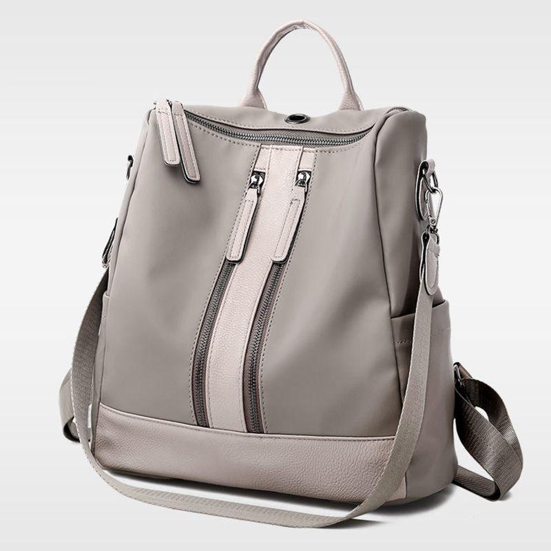 Designer-De-Luxe-Femmes-Sac-A-Dos-De-Grande-Capacite-Mesdames-Oxford-Sac-A-M1C1 miniature 3