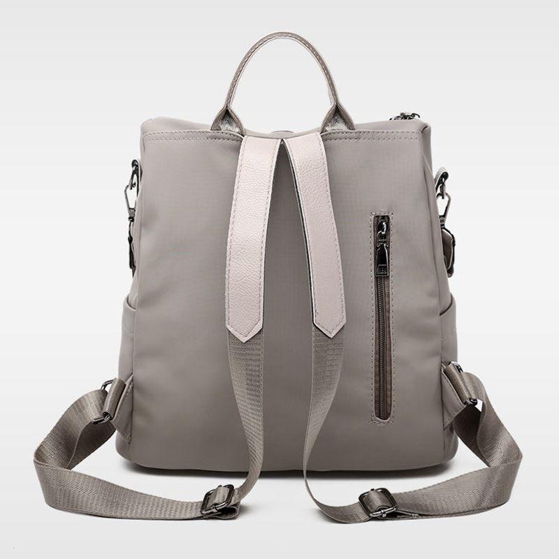 Designer-De-Luxe-Femmes-Sac-A-Dos-De-Grande-Capacite-Mesdames-Oxford-Sac-A-M1C1 miniature 5