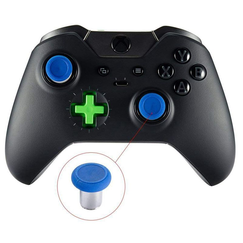 6-in-1-Swap-Thumbstick-Grips-Replacement-Parts-for-Xbox-One-Elite-Controller-H9 thumbnail 10