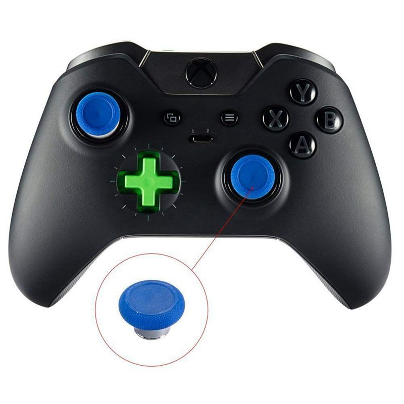 6-in-1-Swap-Thumbstick-Grips-Replacement-Parts-for-Xbox-One-Elite-Controller-H9 thumbnail 11